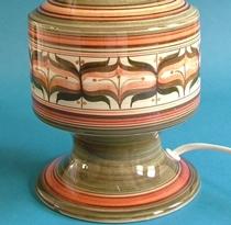 Jersey Pottery Lamp Base
