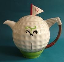 Golf Teapot