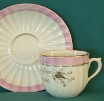 Souvenir Cup and Saucer Set