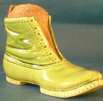 Victorian Boot Pin Cushion