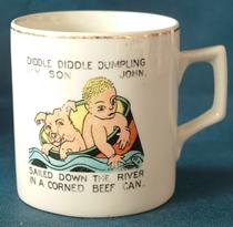 Edwardian Porcelain Cup