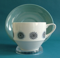 British Anchor Cup and Saucer Set