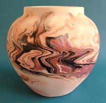 Nemadji Pottery Vase