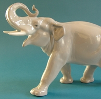 Lomonosov Elephant Figure