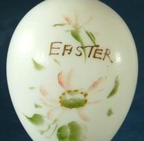 19th Century Glass Easter Egg