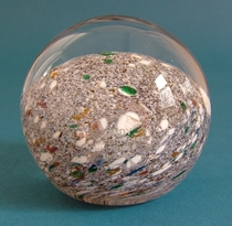Cowdy Glass paperweight