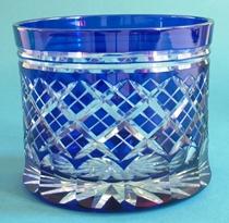 Bohemian Glass Pot