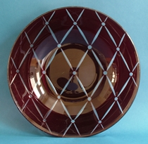 Chance Glass Intaglio Bowl