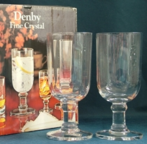 Denby Provence Wine Glasses