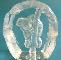 Nybro Crystal Paperweight