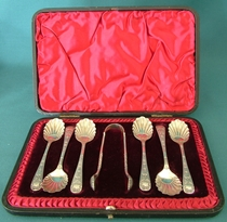 Sugar Spoons and Tongs